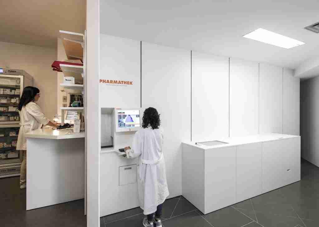 Farmacia Centrale Soave laboratorio